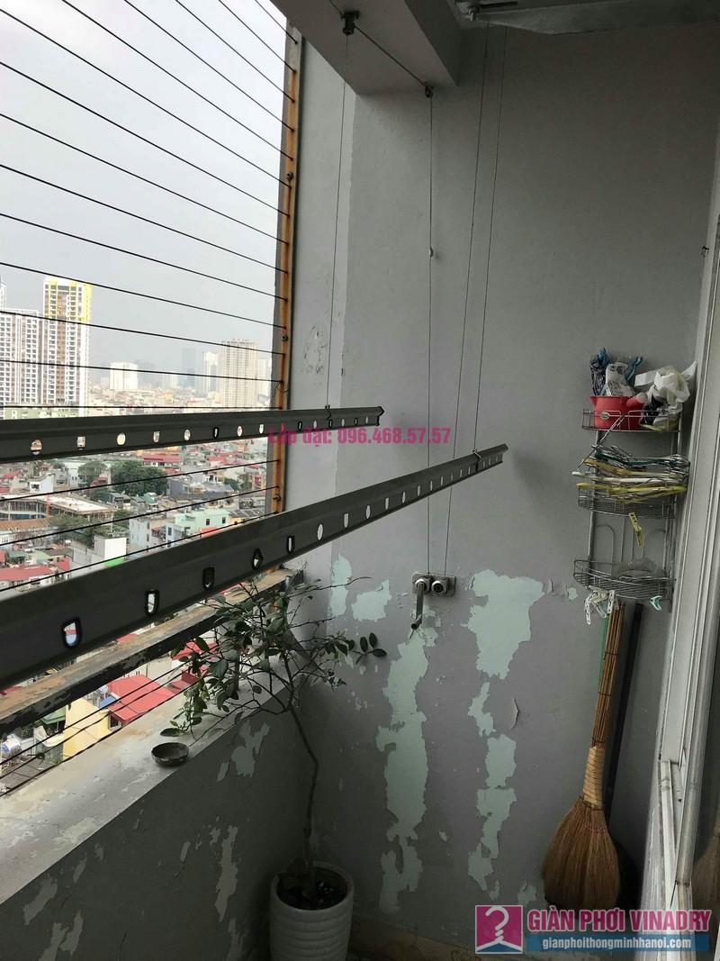 Sửa dàn phơi thông minh nhà chị Thắm, chung cư Five Star Kim Giang, Thanh Xuân, Hà Nội - 01