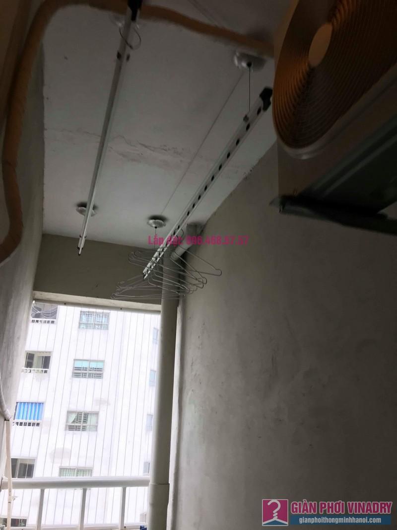 Sửa giàn phơi Hà Đông nhà chị Tảo, Tòa B, chung cư Sông Nhuệ Sails Tower - 02