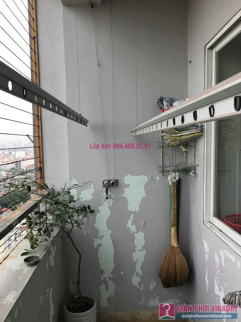 Sửa dàn phơi thông minh nhà chị Thắm, chung cư Five Star Kim Giang, Thanh Xuân, Hà Nội - 03