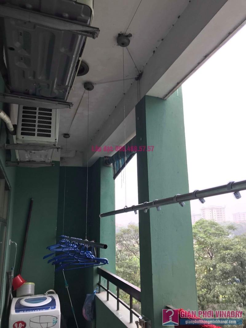 Sửa giàn phơi quần áo nhà chị Hà, chung cư Nơ 21, KĐT Pháp Vân, Hoàng Mai, Hà Nội - 03