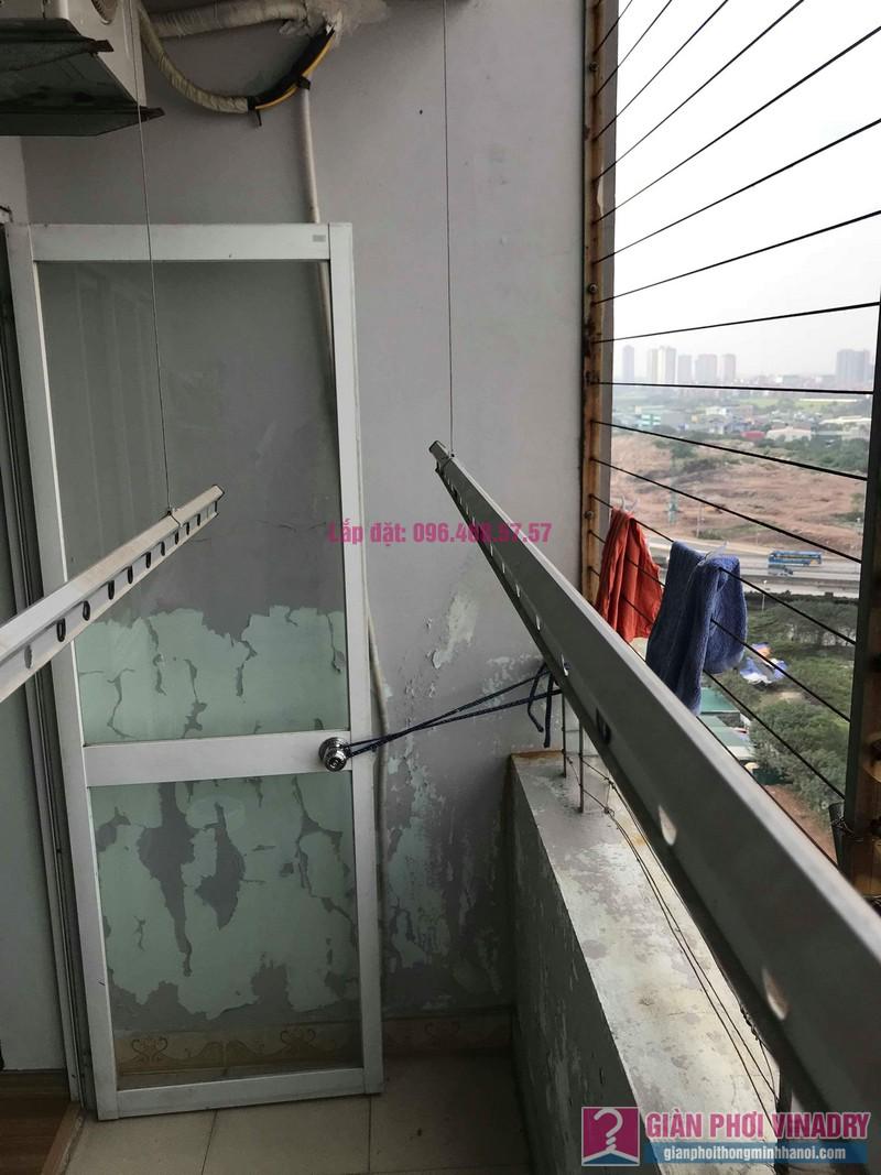 Sửa dàn phơi thông minh nhà chị Thắm, chung cư Five Star Kim Giang, Thanh Xuân, Hà Nội - 05