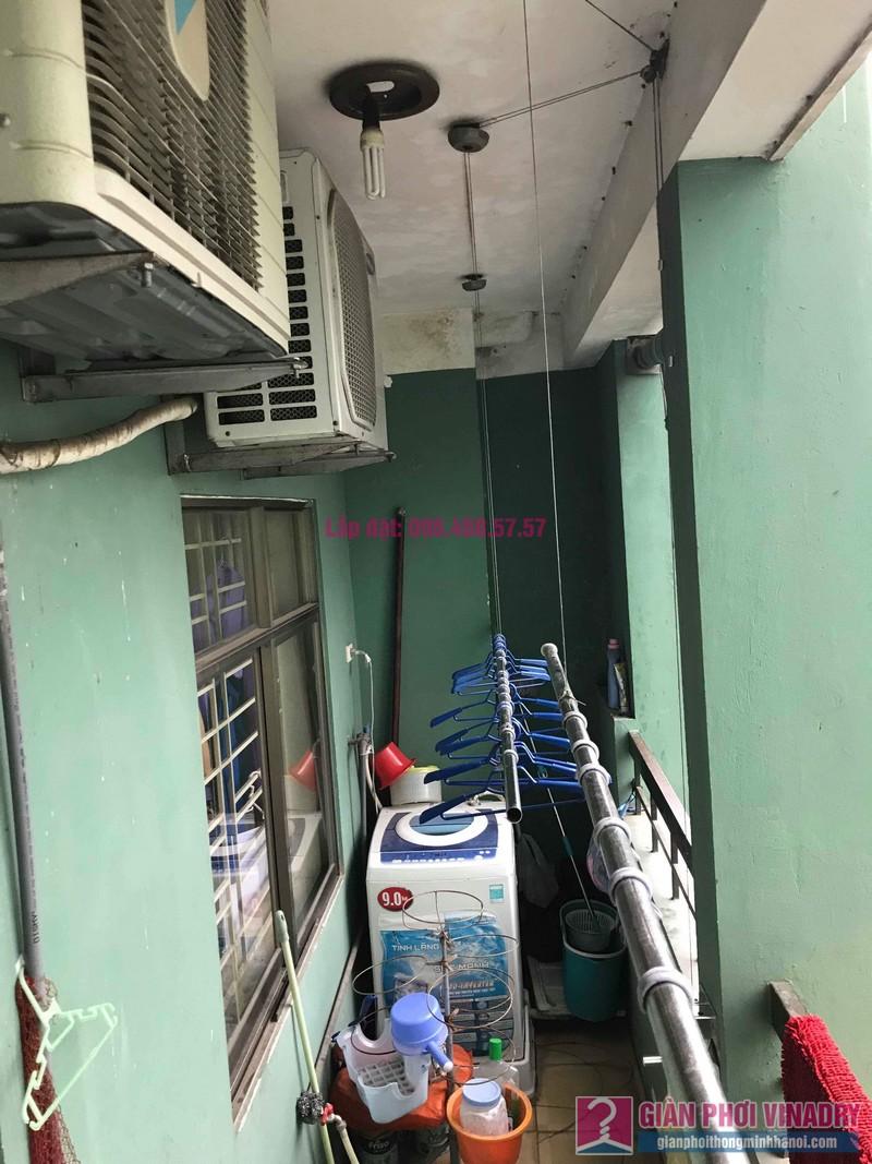 Sửa giàn phơi quần áo nhà chị Hà, chung cư Nơ 21, KĐT Pháp Vân, Hoàng Mai, Hà Nội - 05