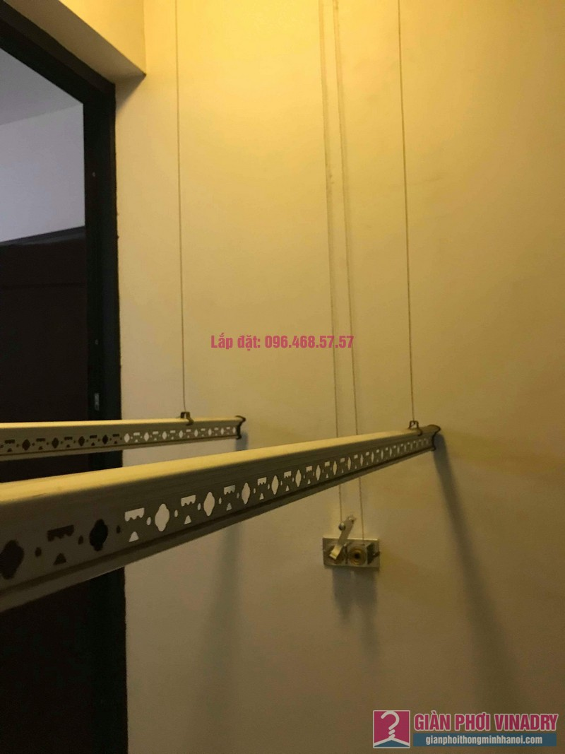 Sửa giàn phơi thông minh 999B nhà chị Nga, Tòa T3, Times City, Hai Bà Trưng, Hà Nội - 06