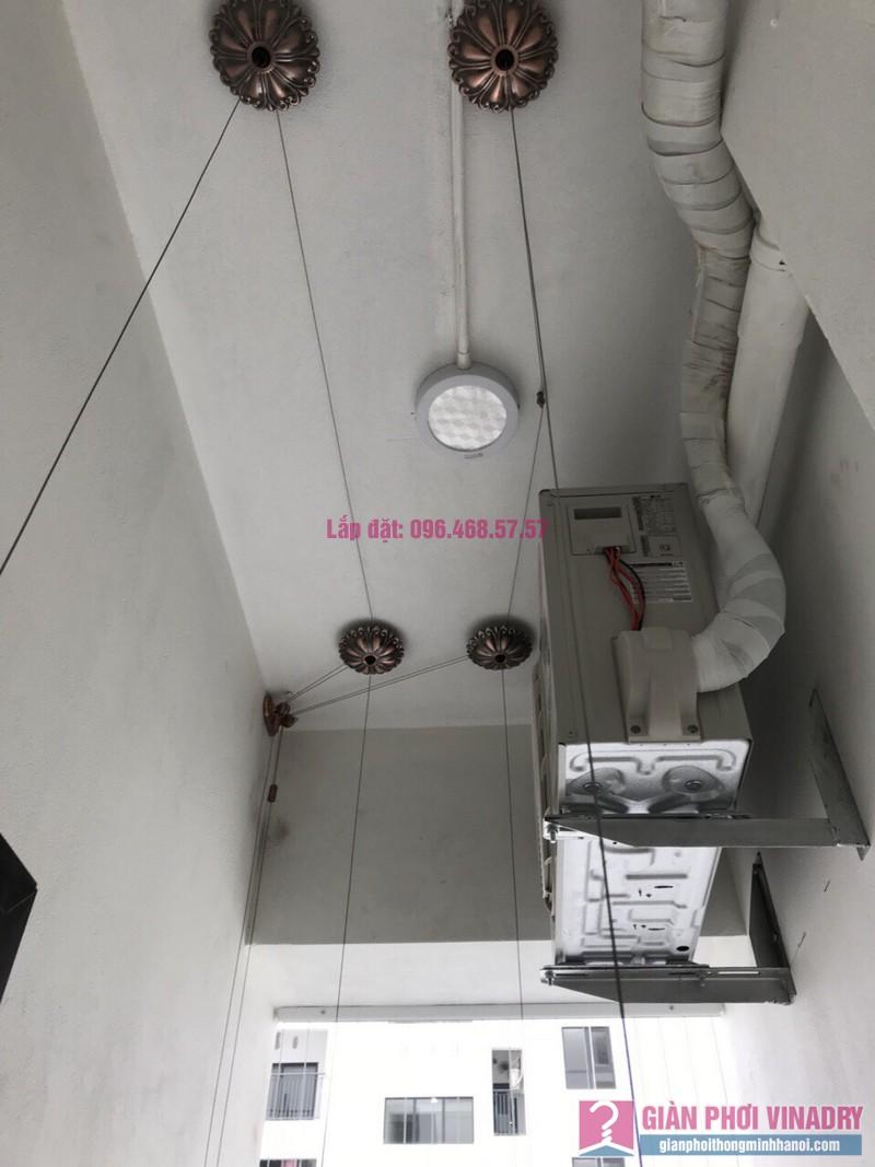 Lắp giàn phơi nhập khẩu nhà chị Nhung, Park Hill Times City - 06