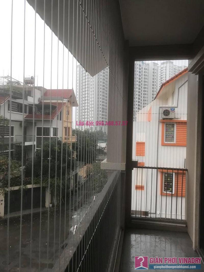 Lắp lưới an toàn ban công trường mầm non Hoa Anh Đào, Bắc Từ Liêm, Hà Nội - 04