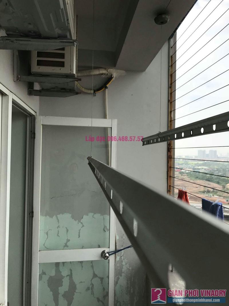 Sửa dàn phơi thông minh nhà chị Thắm, chung cư Five Star Kim Giang, Thanh Xuân, Hà Nội - 08