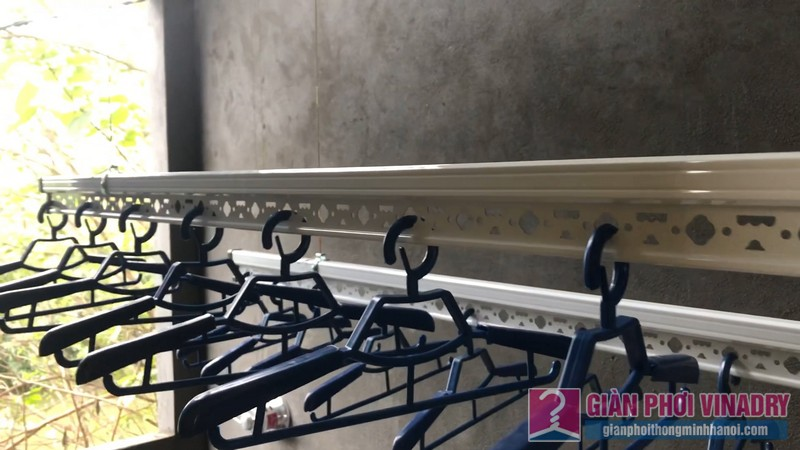 Lắp giàn phơi quần áo nhà chi Đào, Long Biên, Hà Nội - 05