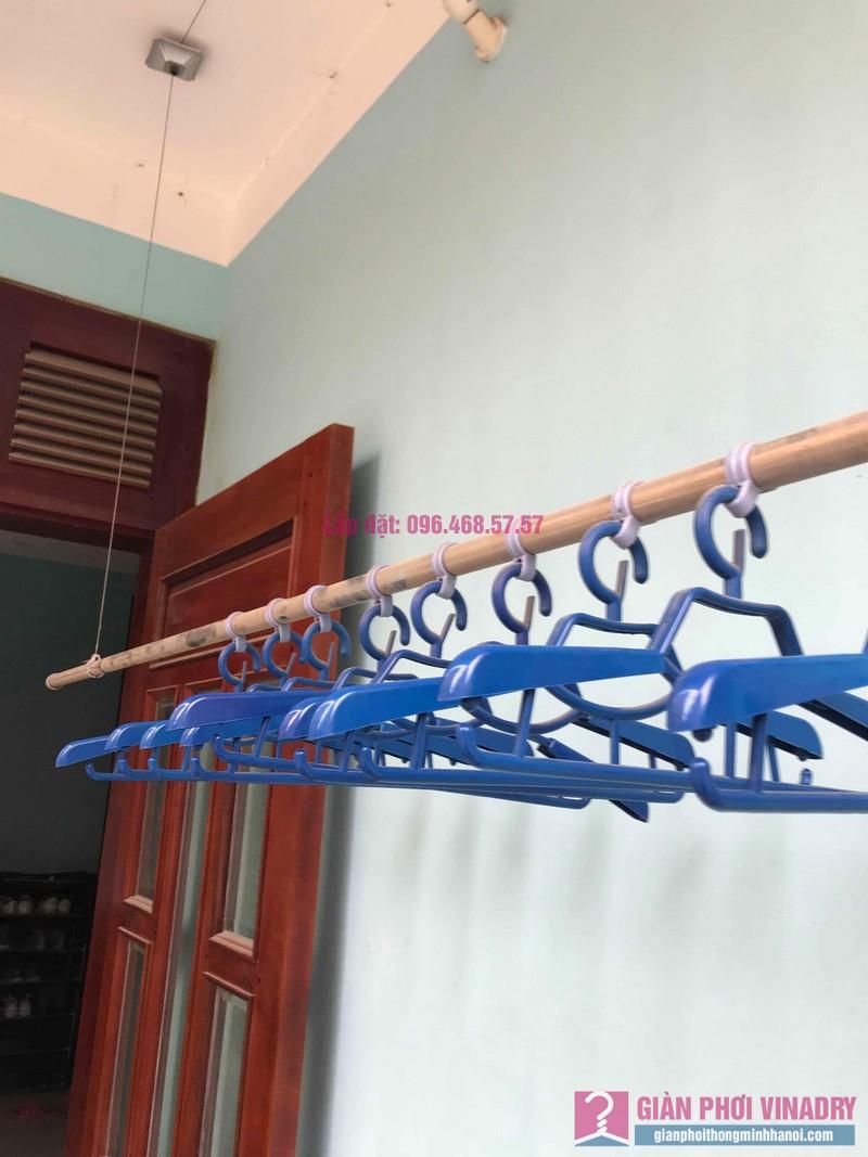 Sửa giàn phơi thông minh nhà chị Hoa, ngõ Thanh Lương 1, Hai Bà Trưng, Hà Nội - 08