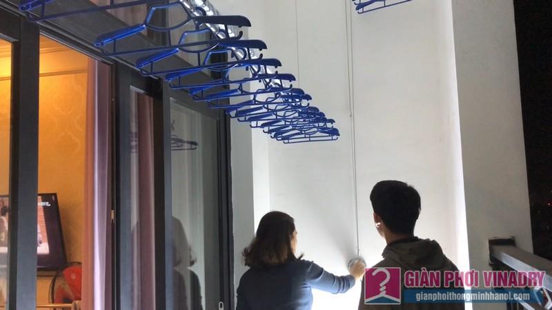 Lắp giàn phơi tại Royal City nhà chị Quyên - 06