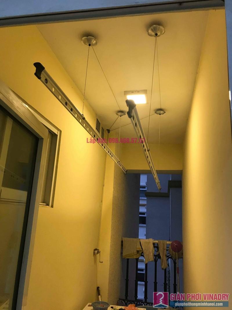 Sửa giàn phơi Ba Sao nhà chị Hương, chung cư Hòa Bình Green, 505 Minh Khai, Hai Bà Trưng, Hà Nội - 01