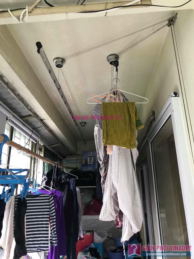 Thay dây cáp giàn phơi thông minh nhà anh Thành, P302 khu A8 Đầm Trấu, Hai Bà Trưng, Hà Nội - 01