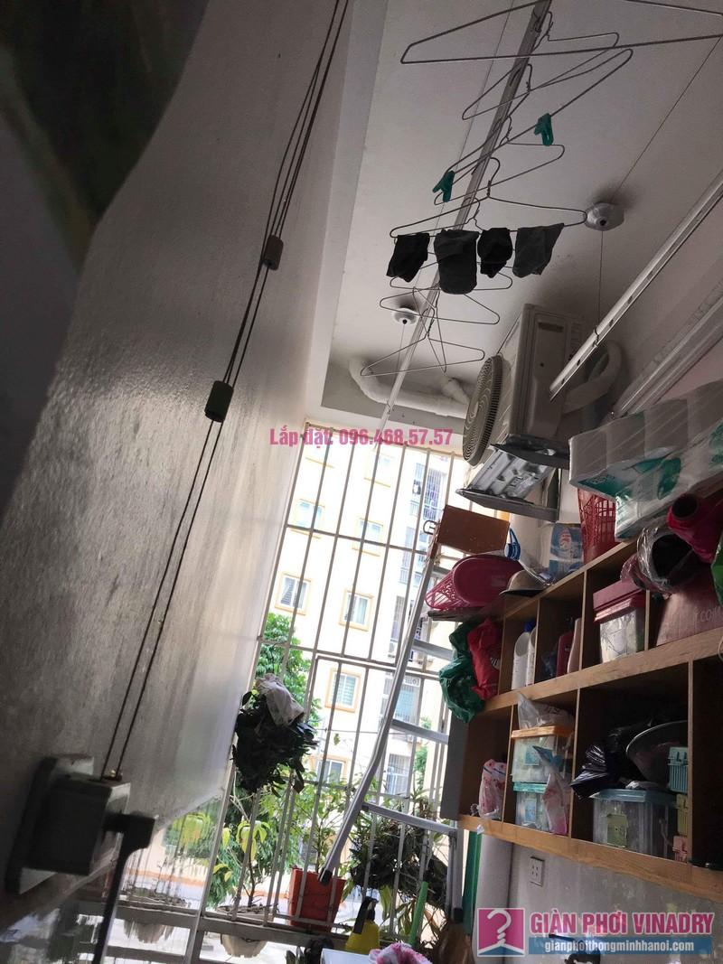 Sửa giàn phơi giá rẻ nhà chị Hằng, chung cư Ecohome 1, Đông Ngạc, Bắc Từ Liêm, Hà Nội - 03
