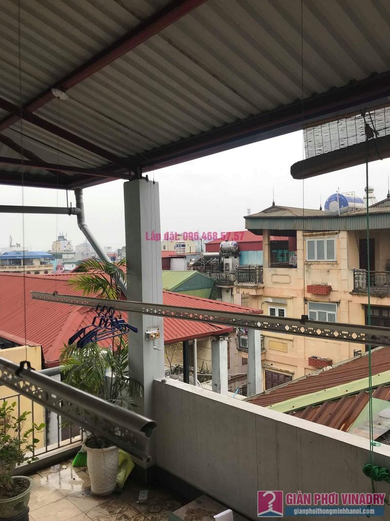 Sửa giàn phơi nhà chú Nam, ngõ 13 Lĩnh Nam, Mai Động, Hoàng Mai, Hà Nội - 03