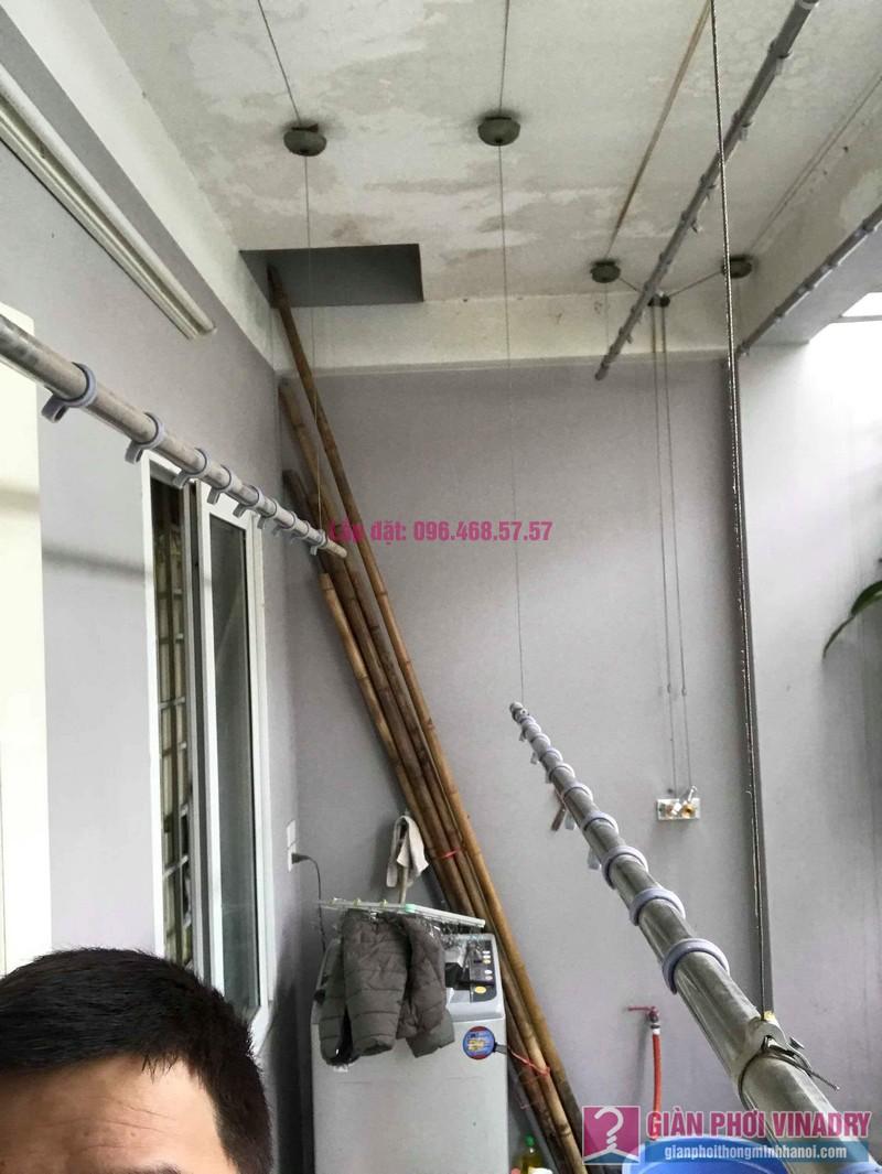 Sửa giàn phơi Duy Lợi nhà chú Thịnh, ngõ 325 Kim Ngưu, Hai Bà Trưng, Hà Nội - 04