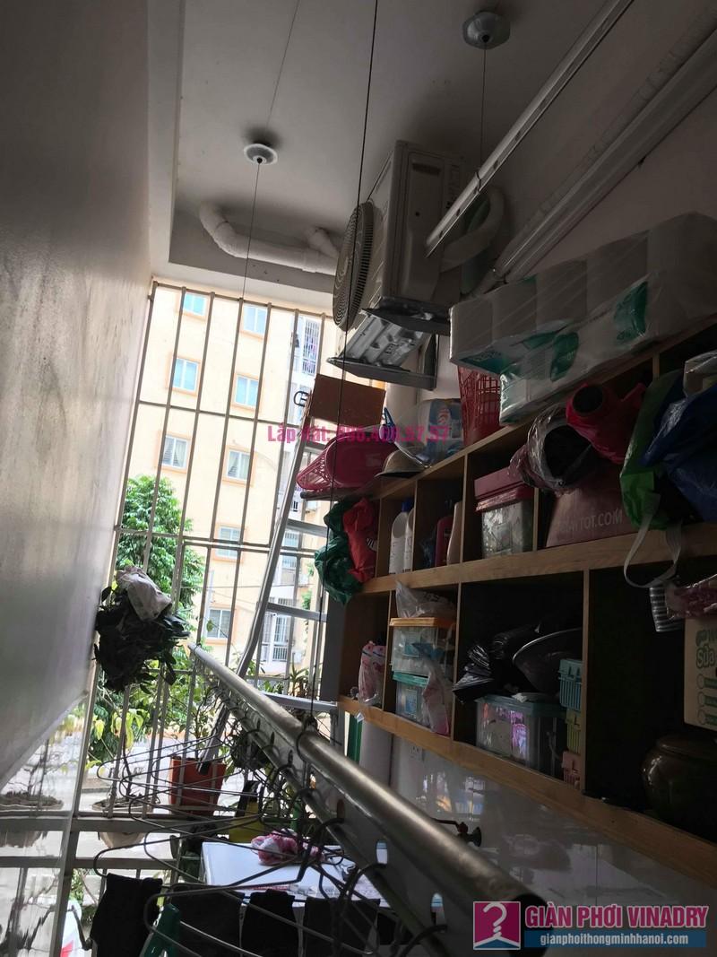 Sửa giàn phơi giá rẻ nhà chị Hằng, chung cư Ecohome 1, Đông Ngạc, Bắc Từ Liêm, Hà Nội - 06