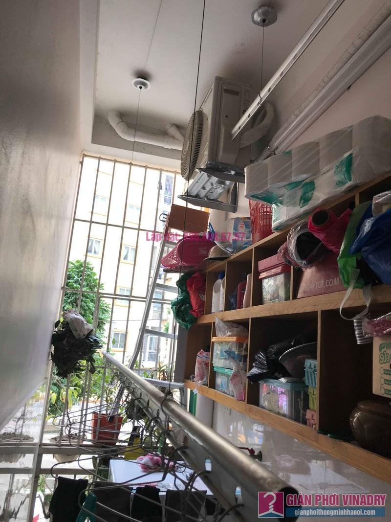 Sửa giàn phơi giá rẻ nhà chị Hằng, chung cư Ecohome 1, Đông Ngạc, Bắc Từ Liêm, Hà Nội - 07