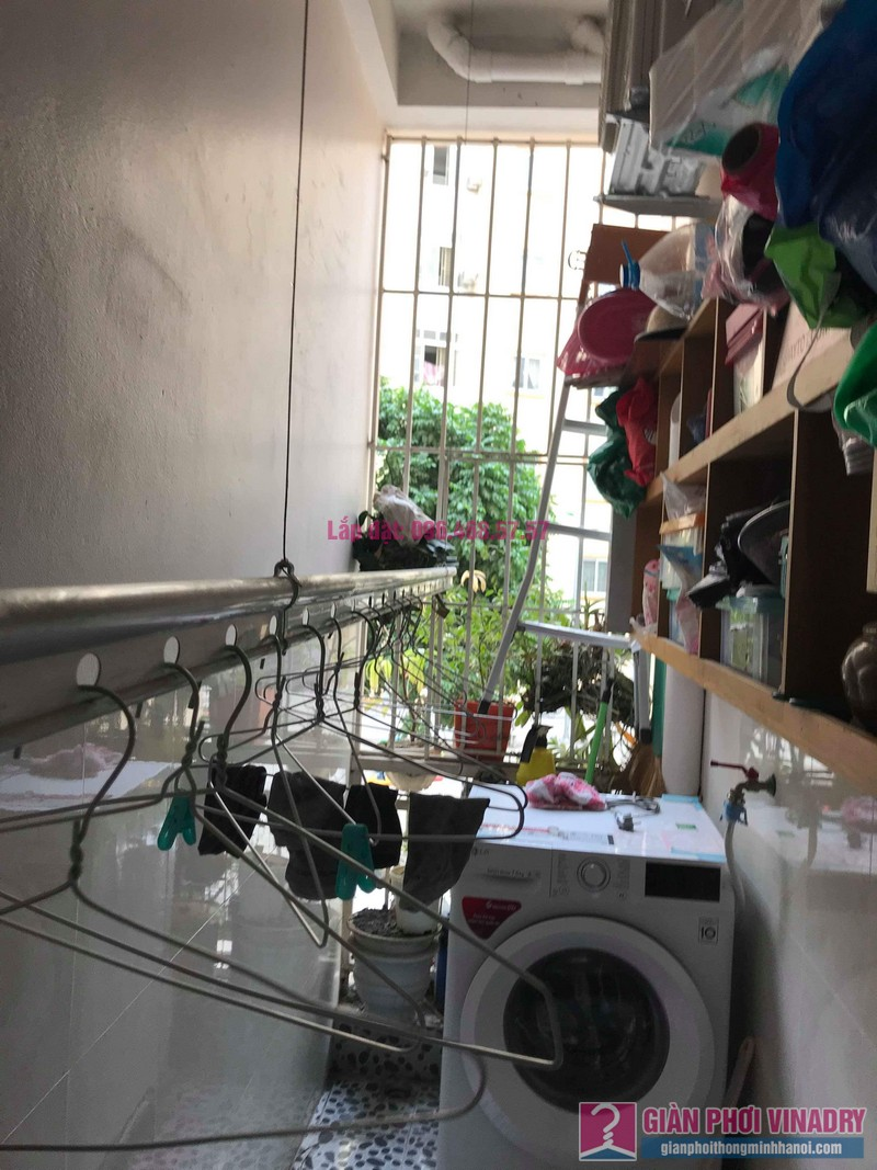 Sửa giàn phơi giá rẻ nhà chị Hằng, chung cư Ecohome 1, Đông Ngạc, Bắc Từ Liêm, Hà Nội - 08