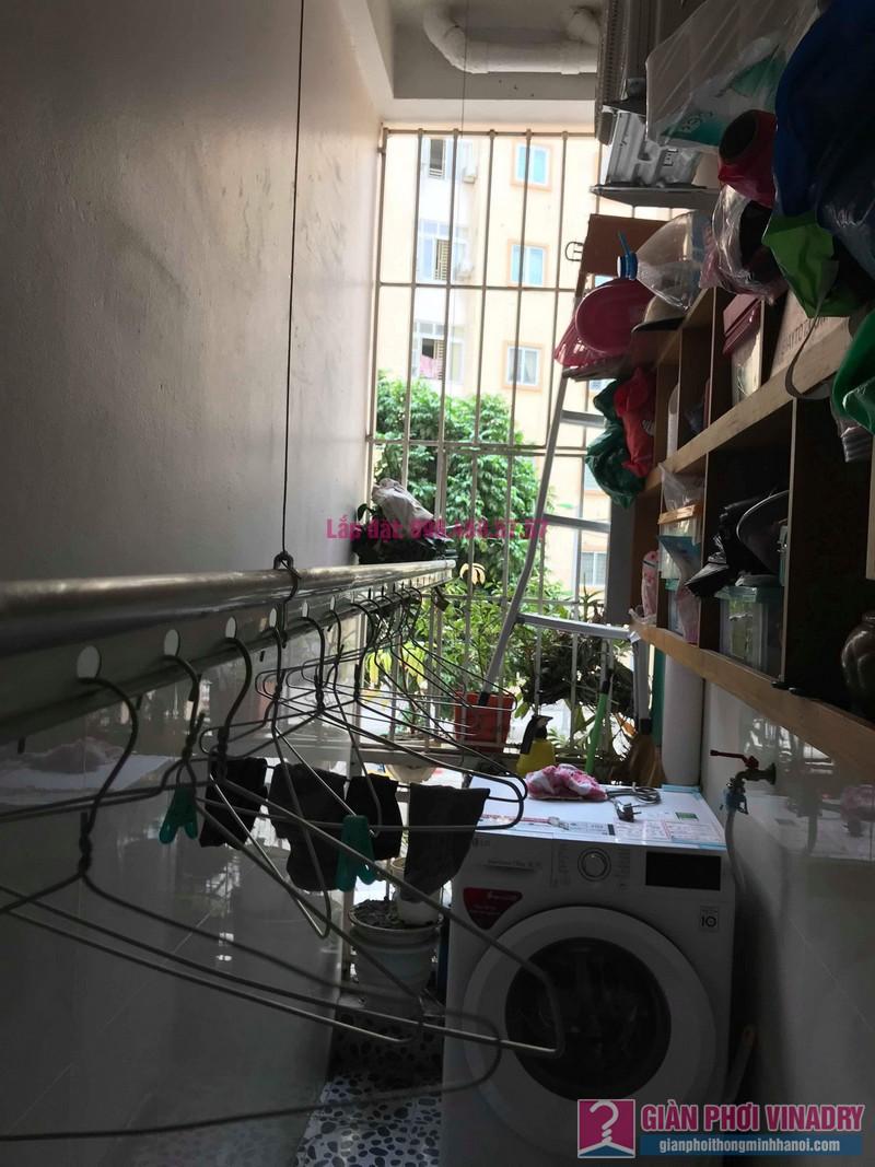 Sửa giàn phơi giá rẻ nhà chị Hằng, chung cư Ecohome 1, Đông Ngạc, Bắc Từ Liêm, Hà Nội - 09
