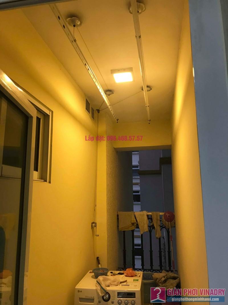 Sửa giàn phơi Ba Sao nhà chị Hương, chung cư Hòa Bình Green, 505 Minh Khai, Hai Bà Trưng, Hà Nội - 09