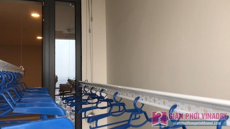 Lắp giàn phơi nhà anh Toàn, Tòa B, chung cư Mipec Reverside Long Biên, Hà Nội - 11