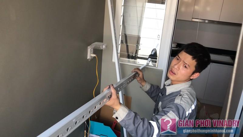 Lắp giàn phơi Hà Đông tại nhà chị Nhung, chung cư Season1 Avenu Mỗ Lao - 04