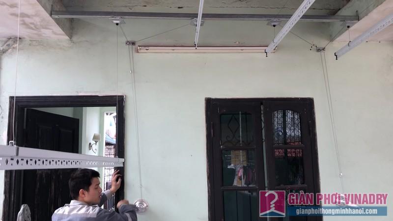 Lắp bộ đôi giàn phơi Hòa Phát Air nhà anh Cường, ngõ 291, Khương Trung, Hai Bà Trưng, Hà Nội - 03