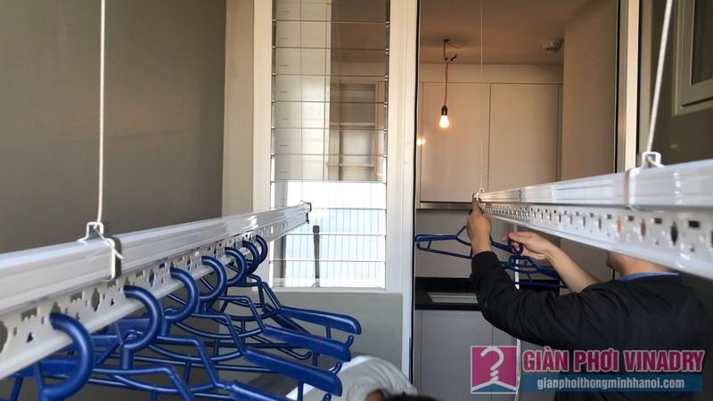Lắp giàn phơi Hà Đông tại nhà chị Nhung, chung cư Season1 Avenu Mỗ Lao - 08