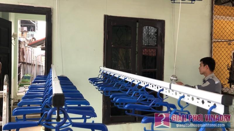 Lắp bộ đôi giàn phơi Hòa Phát Air nhà anh Cường, ngõ 291, Khương Trung, Hai Bà Trưng, Hà Nội - 04