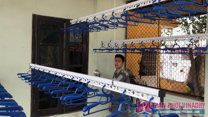 Lắp bộ đôi giàn phơi Hòa Phát Air nhà anh Cường, ngõ 291, Khương Trung, Hai Bà Trưng, Hà Nội - 05