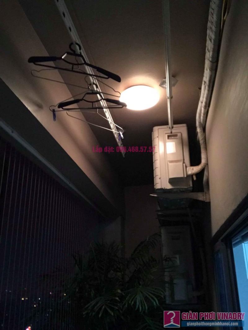 Sửa giàn phơi nhà cô Mai, chung cư Capital Garden 102 Trường Trinh, Đống Đa, Hà Nội - 01
