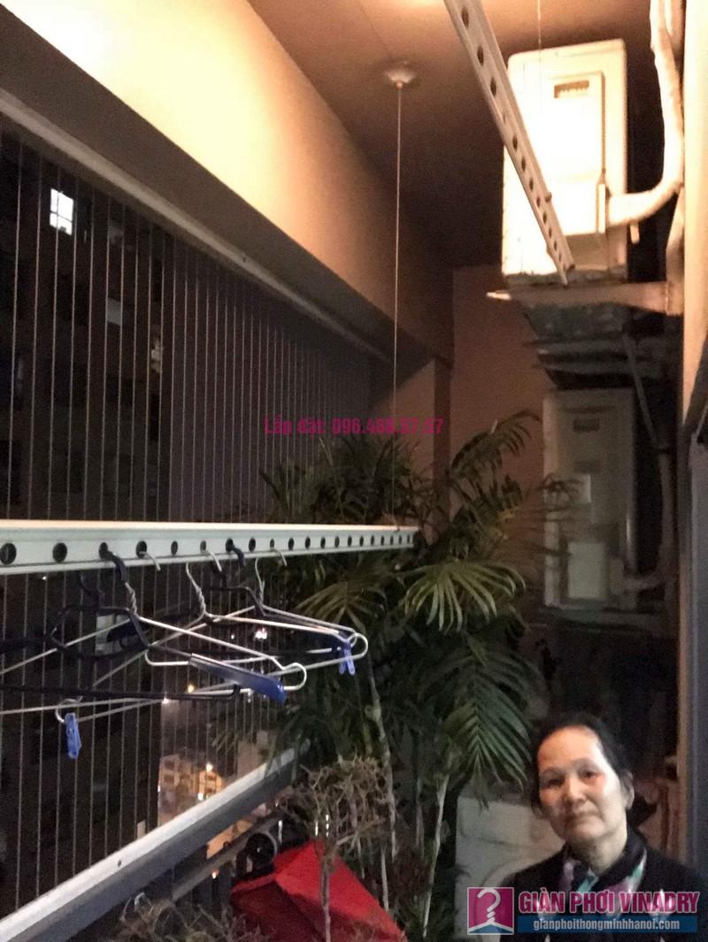 Sửa giàn phơi nhà cô Mai, chung cư Capital Garden 102 Trường Trinh, Đống Đa, Hà Nội - 02