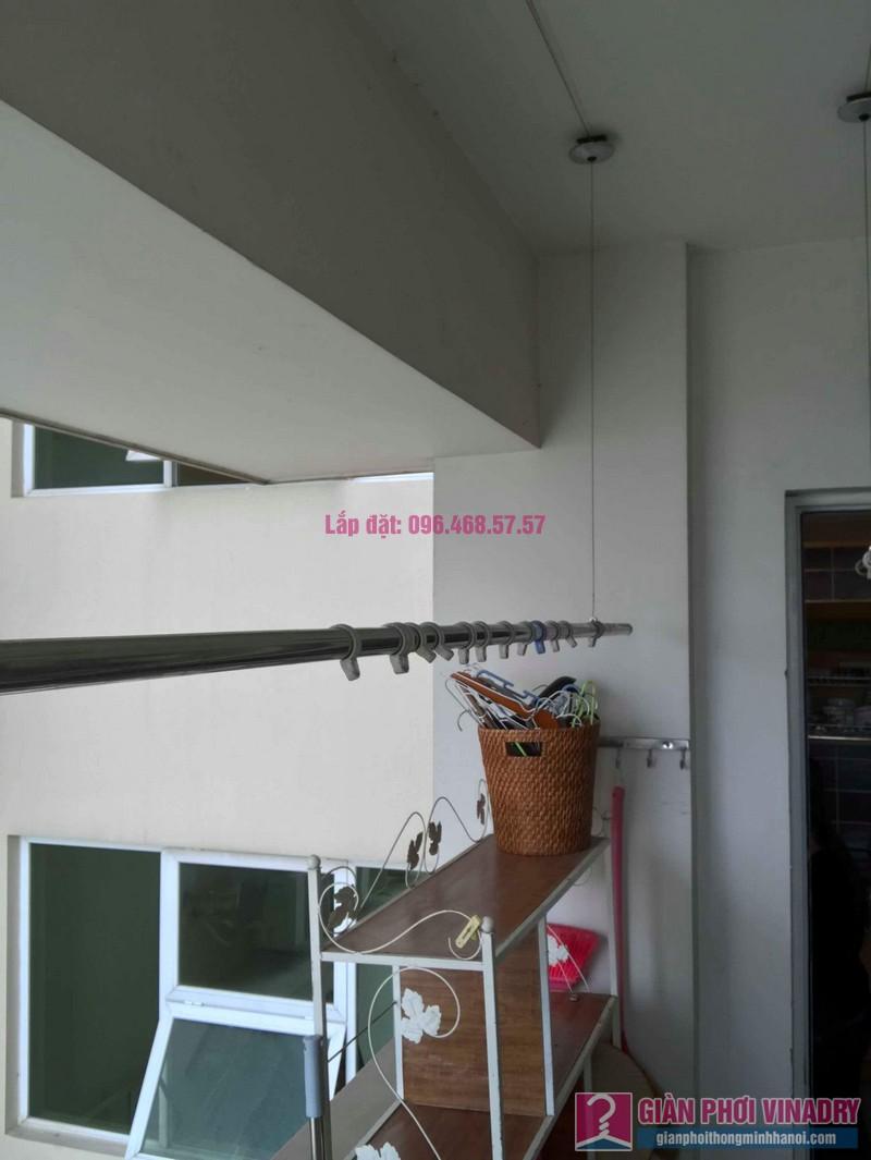 Sửa giàn phơi Ba Sao nhà chị Hạnh, chung cư E5, Ciputra Tây Hồ, Hà Nội - 03