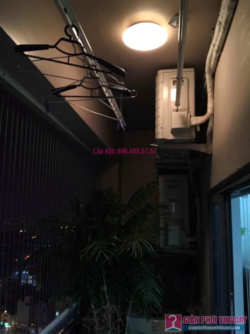 Sửa giàn phơi nhà cô Mai, chung cư Capital Garden 102 Trường Trinh, Đống Đa, Hà Nội - 04