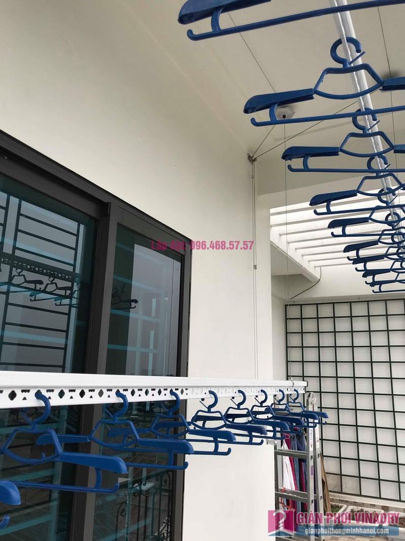 Lắp giàn phơi Hòa Phát Air nhà chị Ánh, Phúc Đồng, Long Biên, Hà Nội - 04