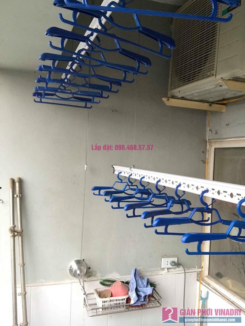 Lắp giàn phơi Hà Đông nhà chị Nhung, Chung cư CT2, KĐT Xala - 05