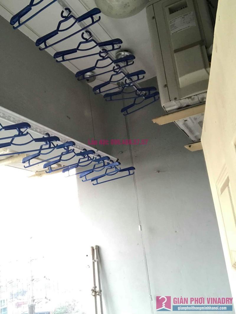 Lắp giàn phơi Hà Đông nhà chị Nhung, Chung cư CT2, KĐT Xala - 06