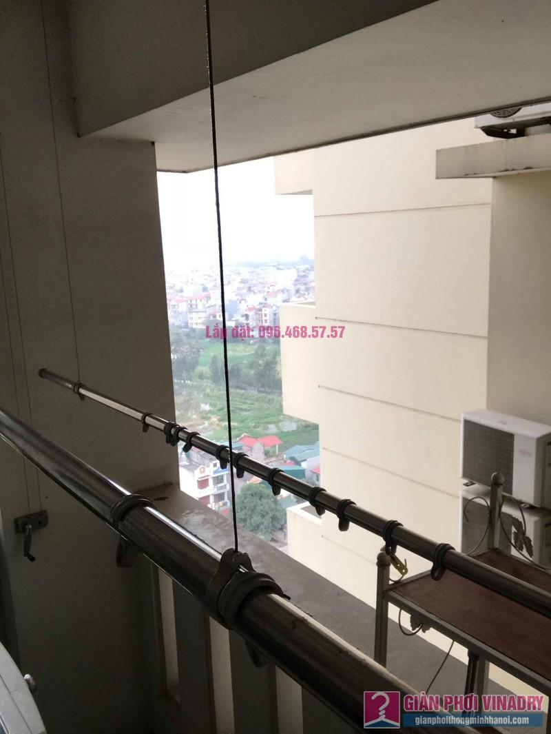 Sửa giàn phơi Ba Sao nhà chị Hạnh, chung cư E5, Ciputra Tây Hồ, Hà Nội - 06