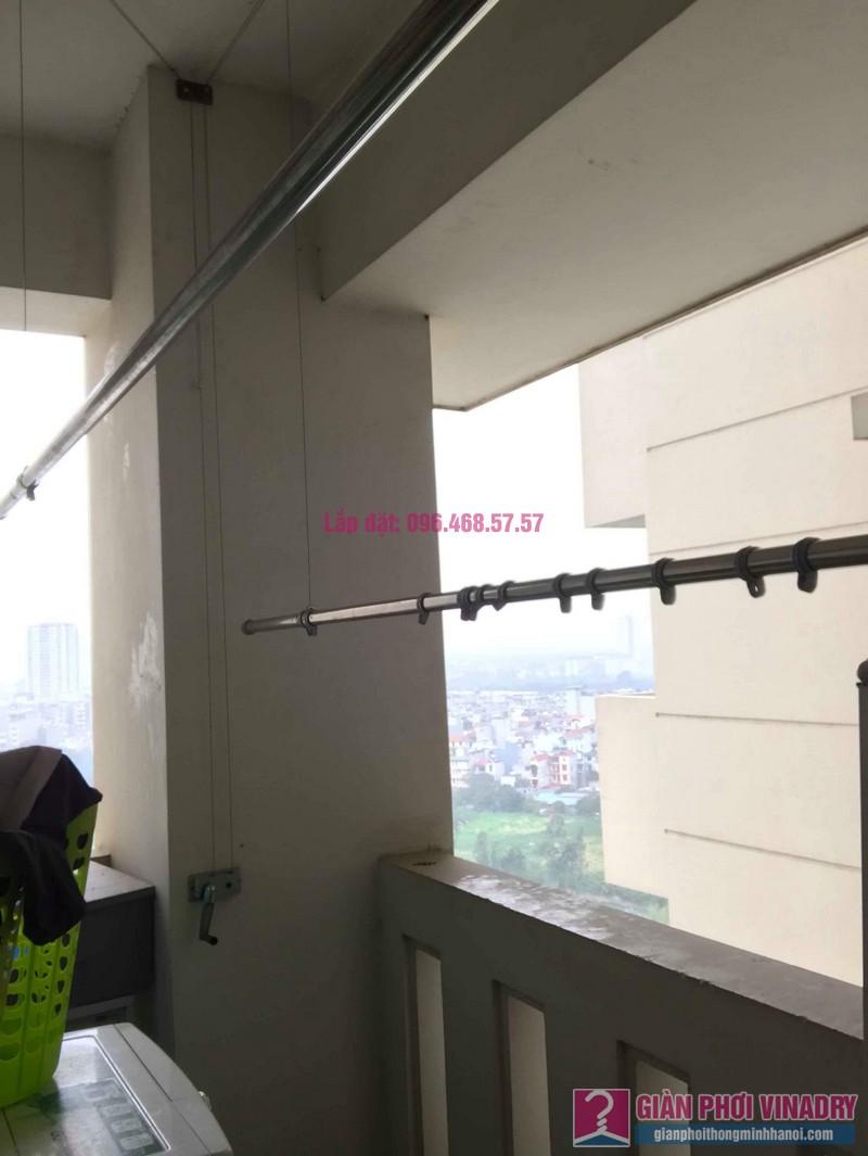 Sửa giàn phơi Ba Sao nhà chị Hạnh, chung cư E5, Ciputra Tây Hồ, Hà Nội - 07