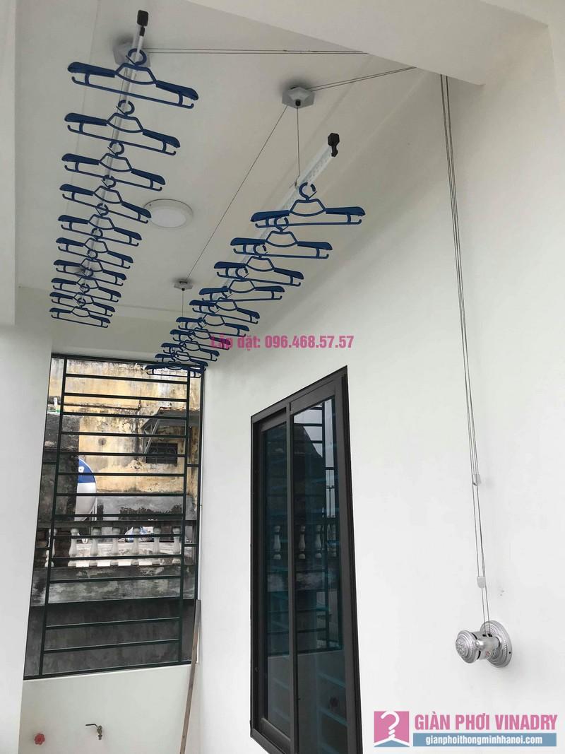 Lắp giàn phơi Hòa Phát Air nhà chị Ánh, Phúc Đồng, Long Biên, Hà Nội - 07