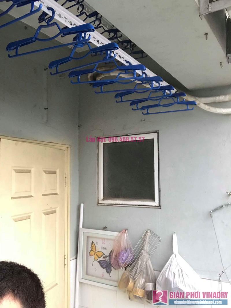 Lắp giàn phơi Hà Đông nhà chị Nhung, Chung cư CT2, KĐT Xala - 08