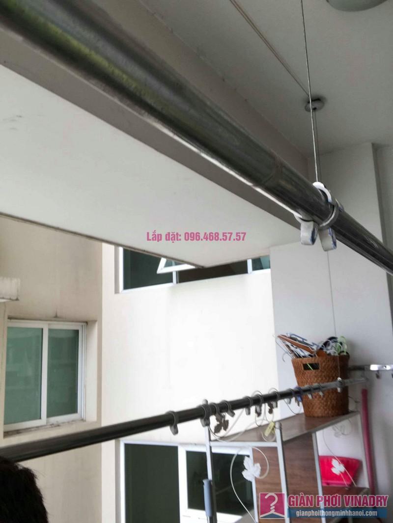 Sửa giàn phơi Ba Sao nhà chị Hạnh, chung cư E5, Ciputra Tây Hồ, Hà Nội - 10