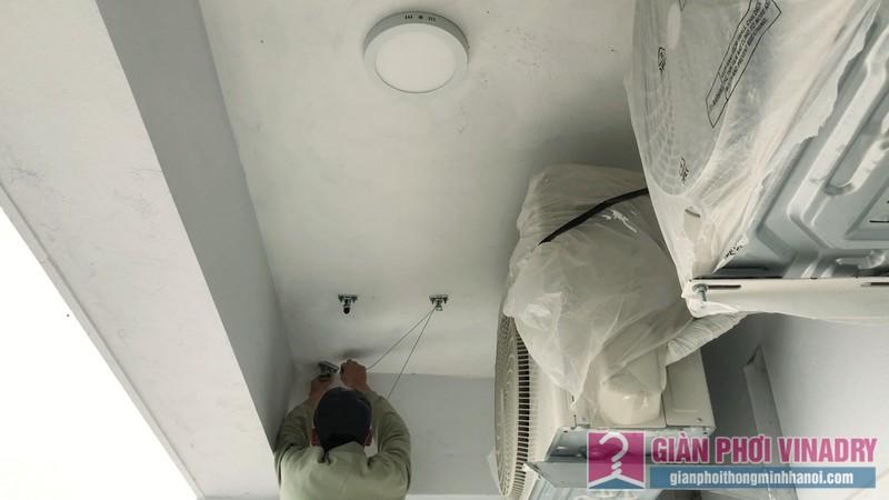 Lắp giàn phơi tại Times City nhà chị Khanh, Tòa T9 - 01