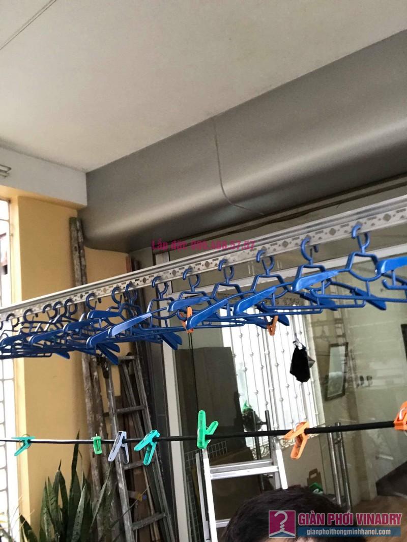 Sửa giàn phơi tại Đống Đa nhà cô Mai, ngõ 23 Phan Phù Tiên, P. Cát Linh - 01