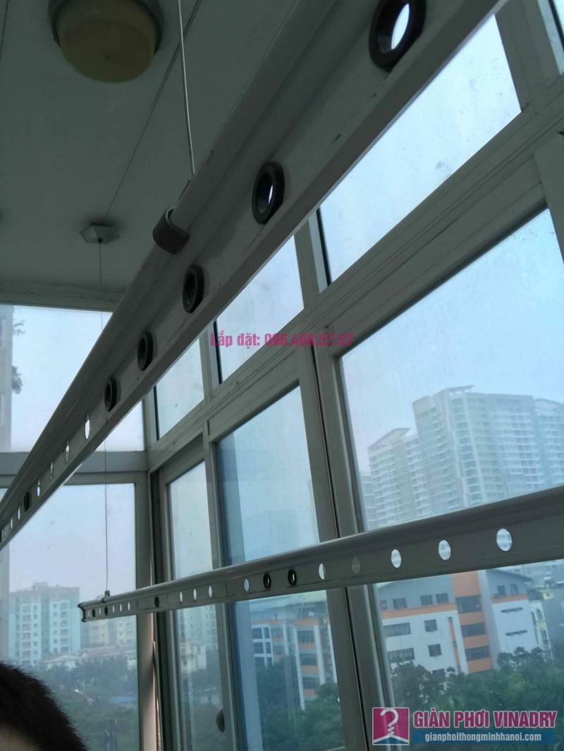 Sửa giàn phơi đồ thông minh nhà chị Nga, chung cư N4A Trung Hòa Nhân Chính, Cầu Giấy, Hà Nội - 02