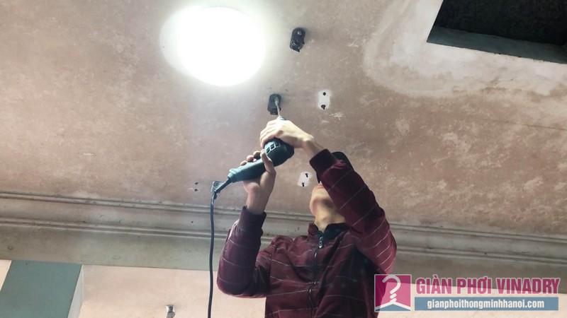 Sửa chữa và lắp đặt giàn phơi nhà anh Trung, ngõ 429 Thụy Khuê, Tây Hồ, Hà Nội - 01