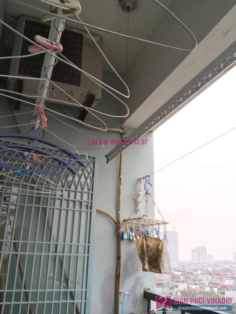Sửa giàn phơi thông minh 999B nhà chú Cường, chung cư CT3A - X2 Bắc Linh Đàm - 03