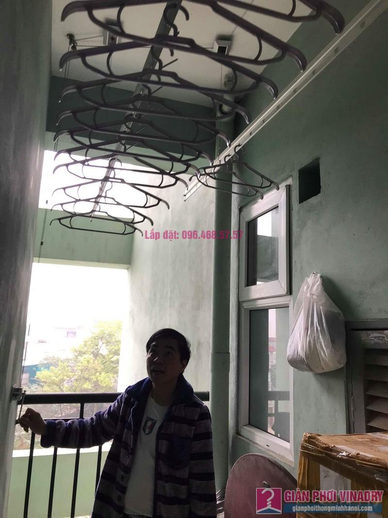 Sửa giàn phơi giá rẻ nhà anh Hiệu, chung cư NC2A, KĐT Cầu Bươu, Thanh Trì, Hà Nội - 04