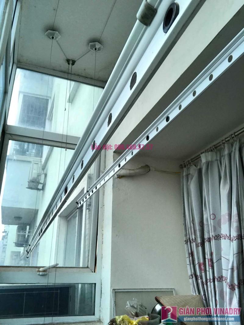 Sửa giàn phơi đồ thông minh nhà chị Nga, chung cư N4A Trung Hòa Nhân Chính, Cầu Giấy, Hà Nội - 04