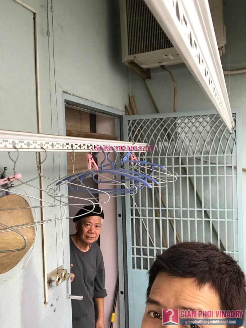 Sửa giàn phơi thông minh 999B nhà chú Cường, chung cư CT3A - X2 Bắc Linh Đàm - 05