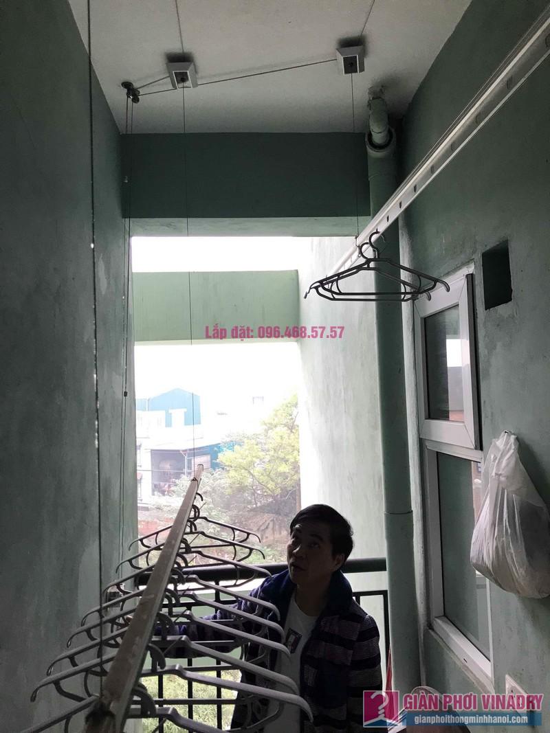 Sửa giàn phơi giá rẻ nhà anh Hiệu, chung cư NC2A, KĐT Cầu Bươu, Thanh Trì, Hà Nội - 05
